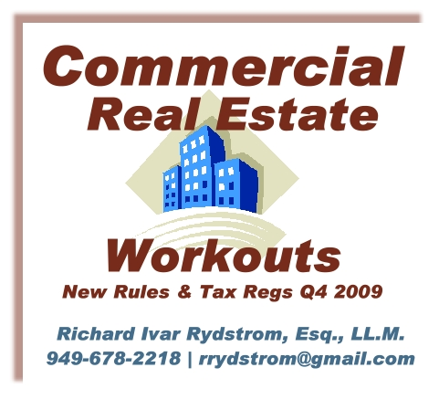 Commercial Workouts Debt Mortgages Refis Mods Q4 2009 Ajpg